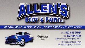 Allen's Body & Paint